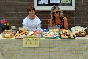 The Class 2 cake stall.